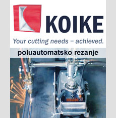 Koike - poluautomatsko rezanje